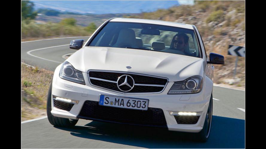 Mercedes C 63 AMG: Neues Design und weniger Verbrauch