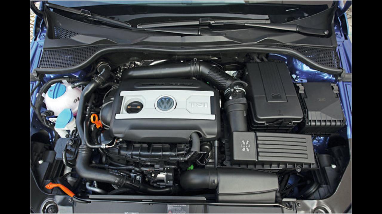 International engine of the year<br><br>VWs 1,4-Liter-TSI mit Turbo und Kompressor