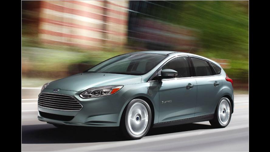 Focus Electric: Erster Elektro-Pkw von Ford startet
