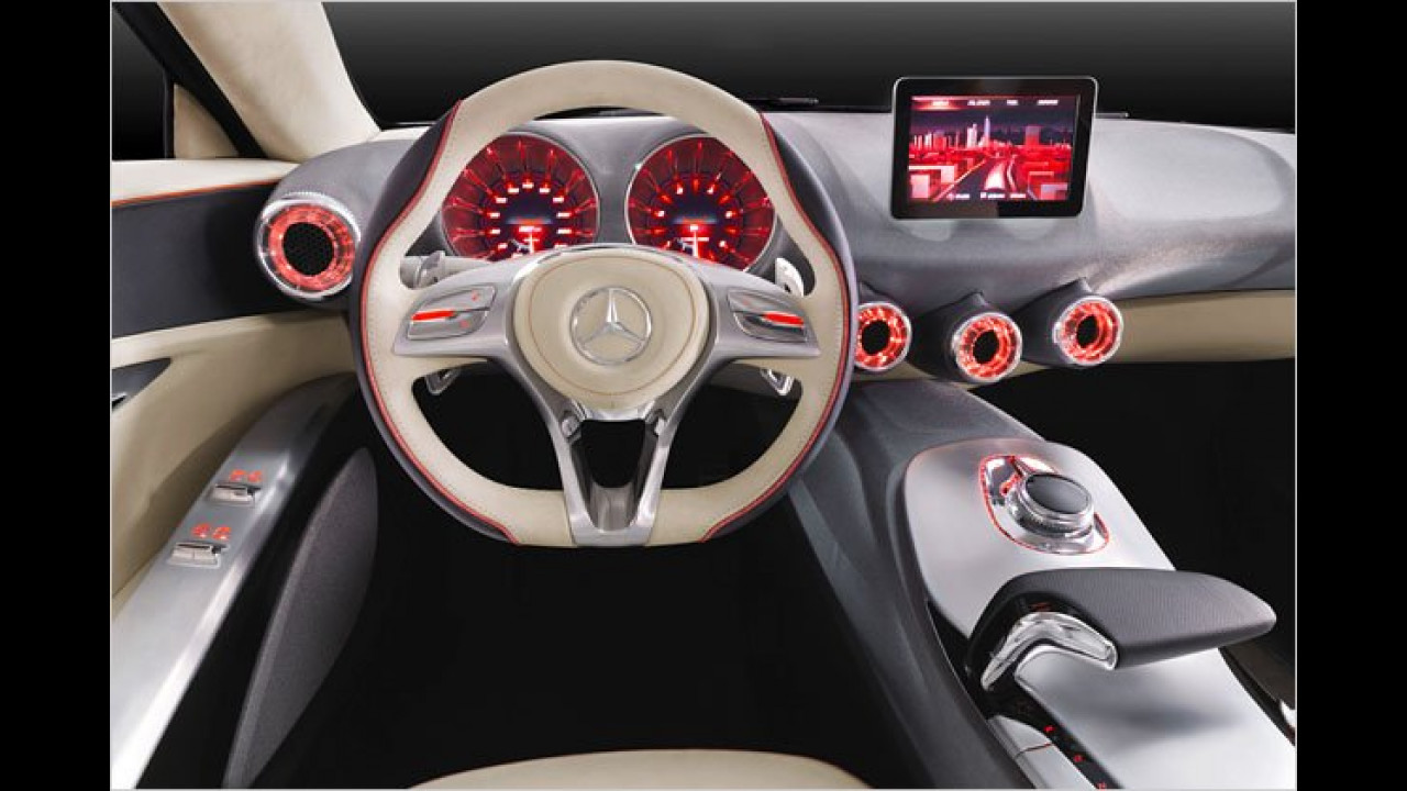 Mercedes Concept A Class (Interieur)