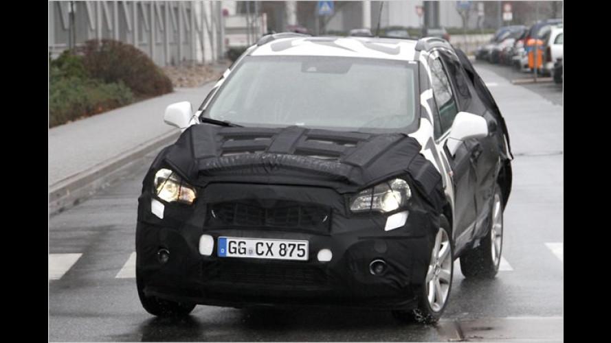 Erwischt: Opel baut ein kleines SUV