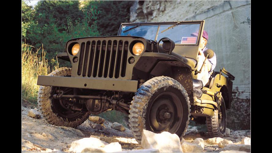 70 Jahre Jeep: Die Entwicklung einer Offroad-Legende