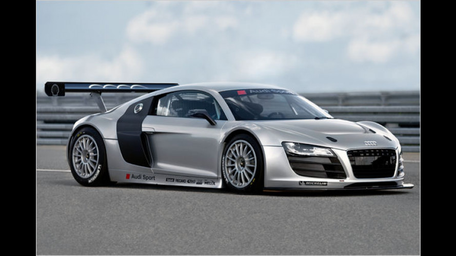 Rennversion des Audi R8