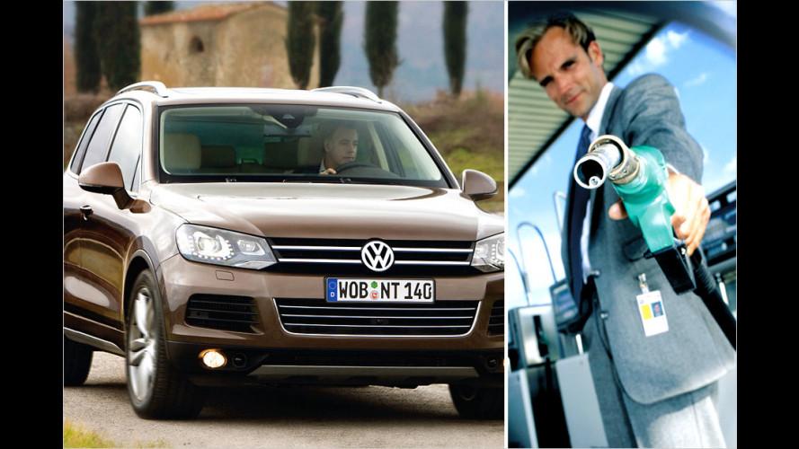 Die sparsamsten Modelle von VW