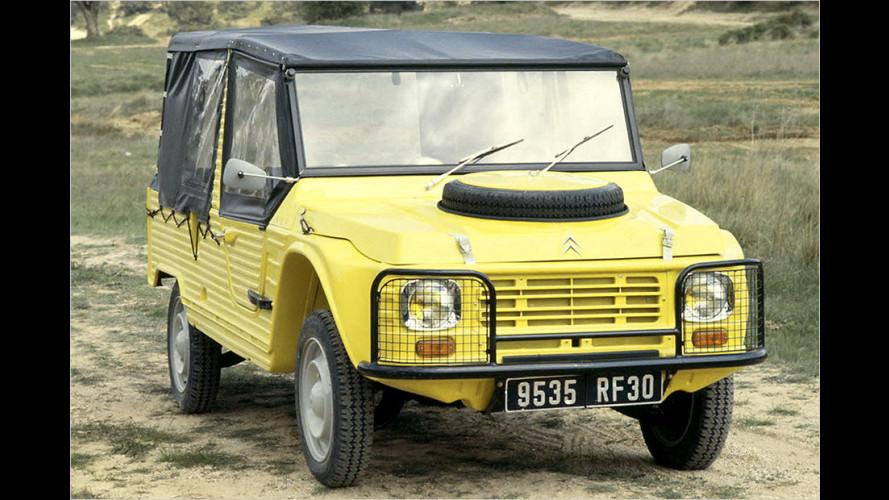 Citroën Méhari wird 45 Jahre alt