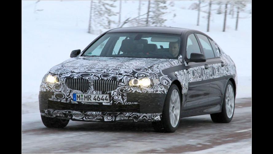 Elitärer Erlkönig: BMW testet den neuen M5