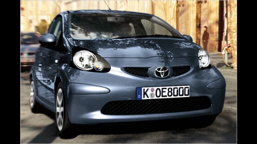 Toyota: Neues Aygo-Sondermodell angekündigt