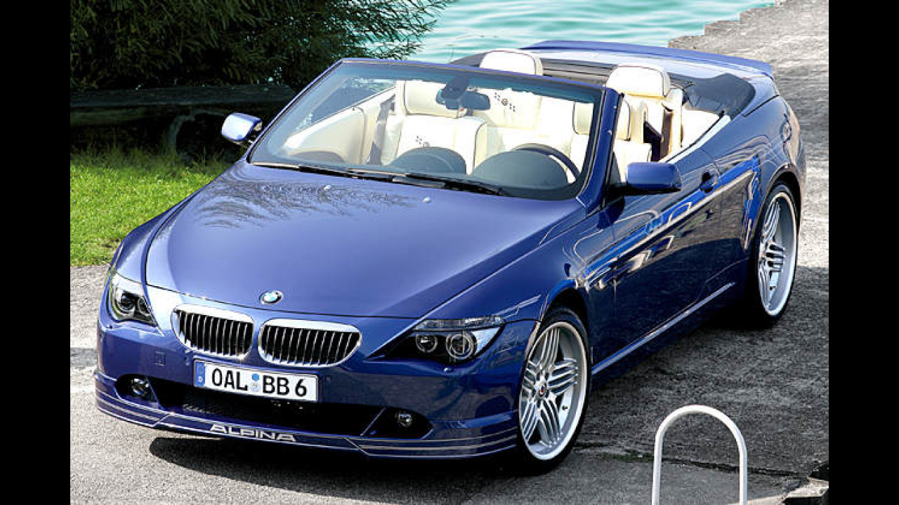 BMW Alpina B6 S Cabriolet Switch-Tronic