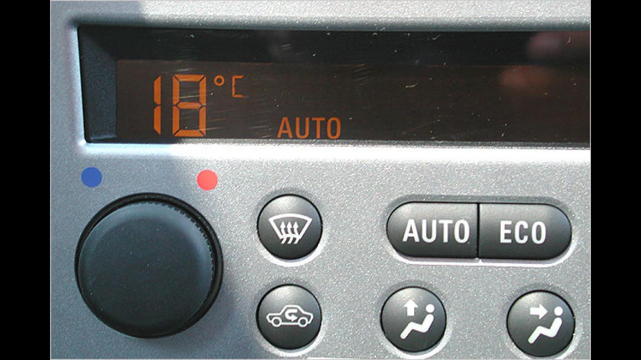 Klimaanlage maßvoll benutzen