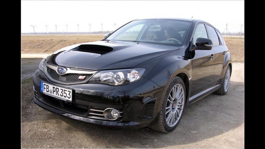 Boller-Wagen mit Biss: Der Subaru Impreza WRX STI im Test