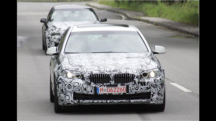 Erwischt: Der nächste BMW 5er lässt die Hüllen fallen