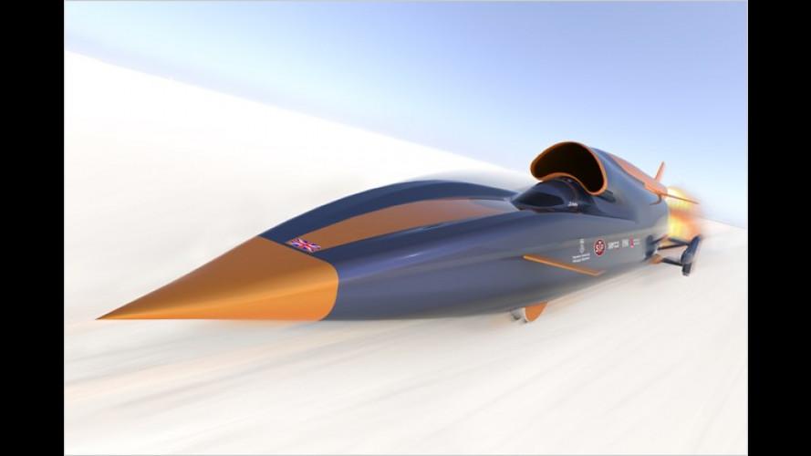Schneller als alle anderen – mit Raketen-Hybrid