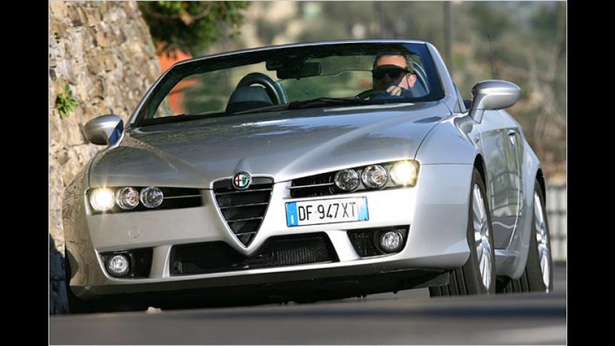 Alfa Spider und Brera: Aufgefrischt ins Modelljahr 2008