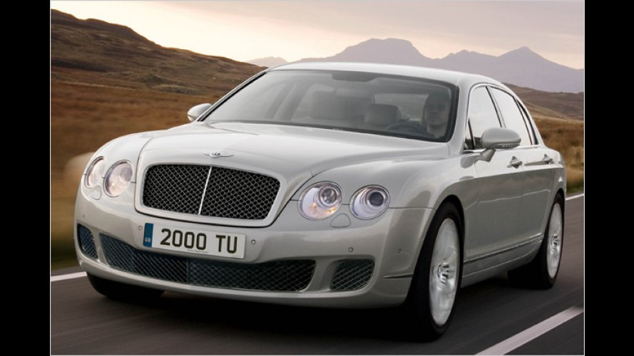 Bentley überarbeitet für 2009 den Continental Flying Spur