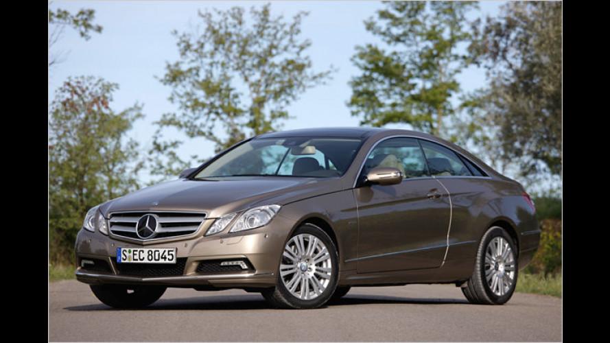 Neues Mercedes E-Klasse Coupé: Schwäbische Schönheit