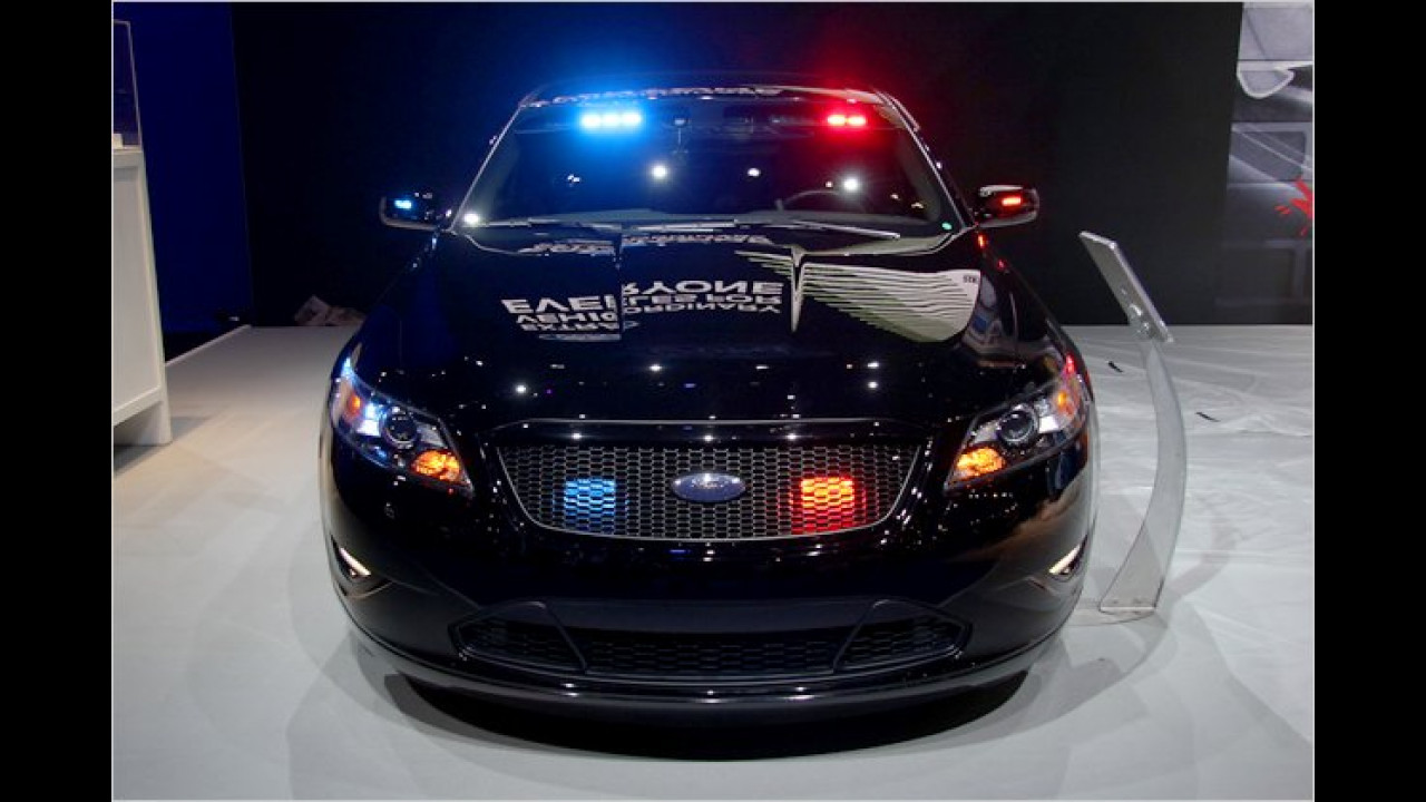 Ford Police Interceptor Sedan