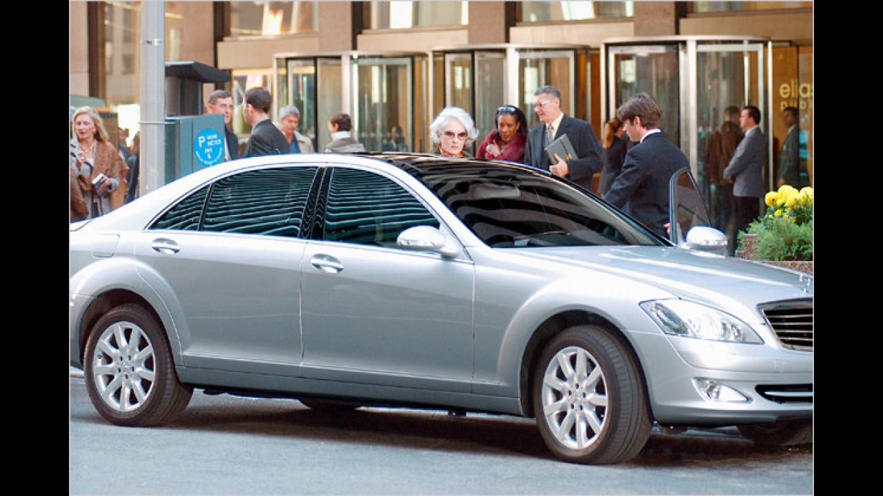 Mercedes S-Klasse (Der Teufel trägt Prada)