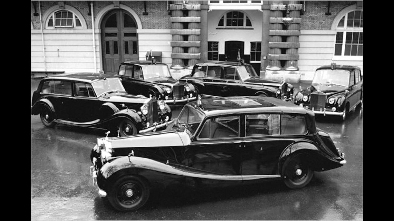 Rolls-Royce Fuhrpark der Queen
