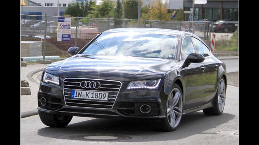Audi S7: Neue Sportversion ungetarnt erwischt