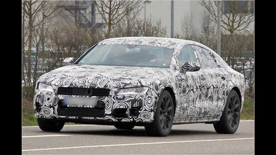 Audi A7 erwischt: Sportback in Übergröße