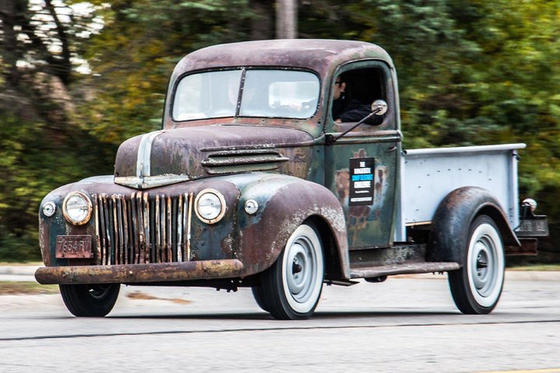 Watch A Derelict Ford Truck Get Restored Using Just Swap Meet Parts