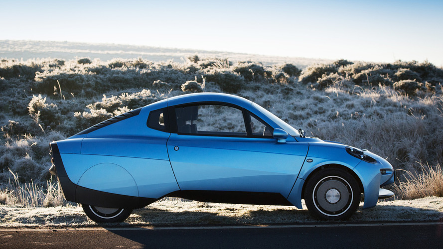 Riversimple Rasa hydrogen-powered vehicle unveiled