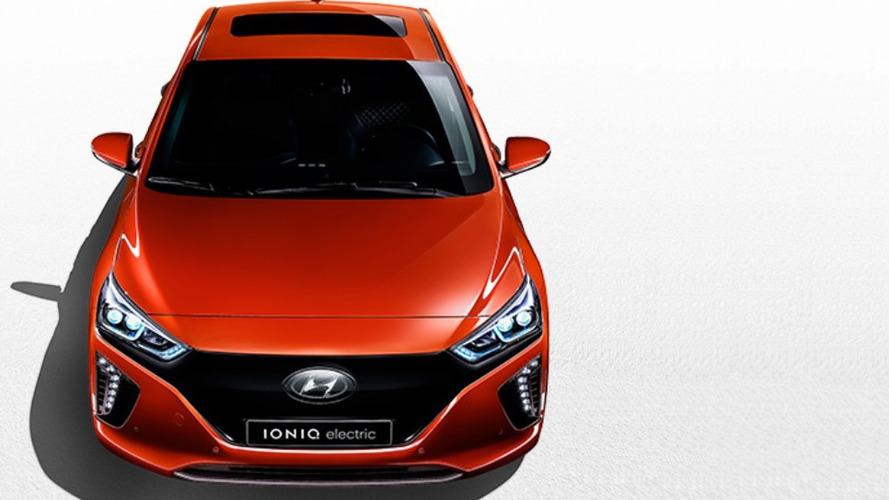 Hyundai IONIQ Electric first pic and specs are out