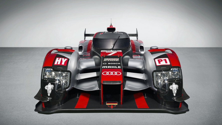 Audi reveals new R18 for 2016 season