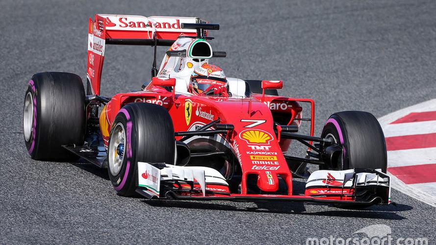 Barcelona F1 test: Raikkonen puts Ferrari back on top, disaster for Alonso