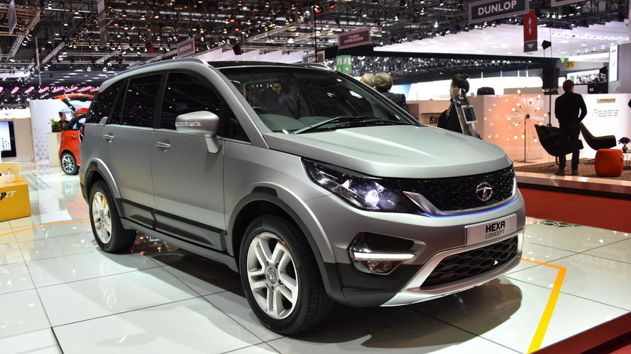 Tata Hexa Concept proves Indians are good at SUVs too