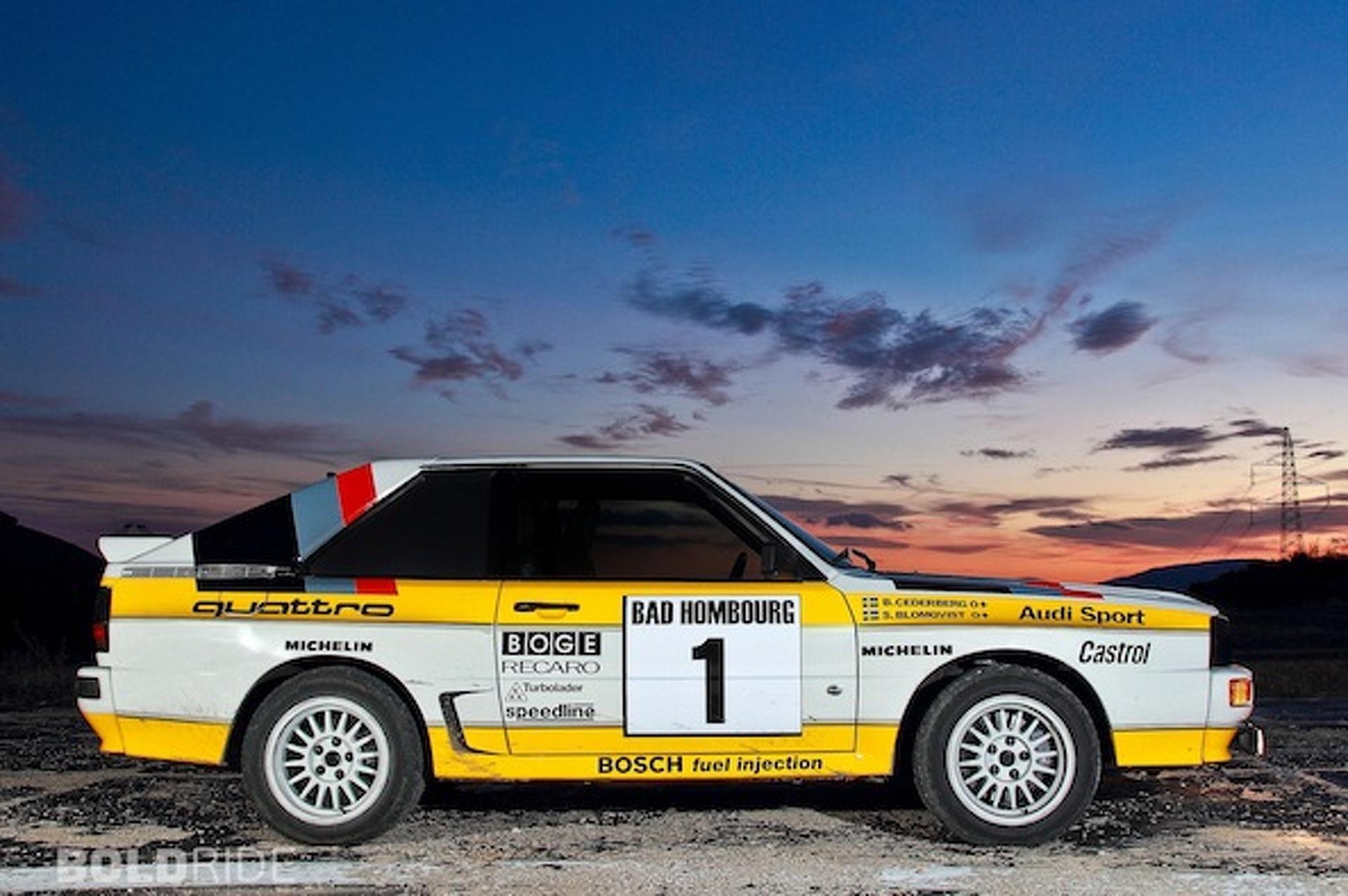 1985 Audi Quattro Rally Car