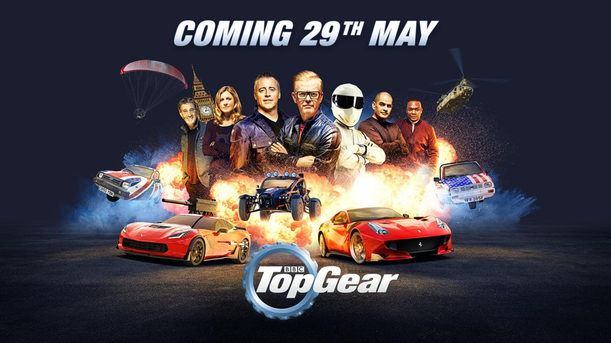 Top Gear UK returns to TV on May 29th