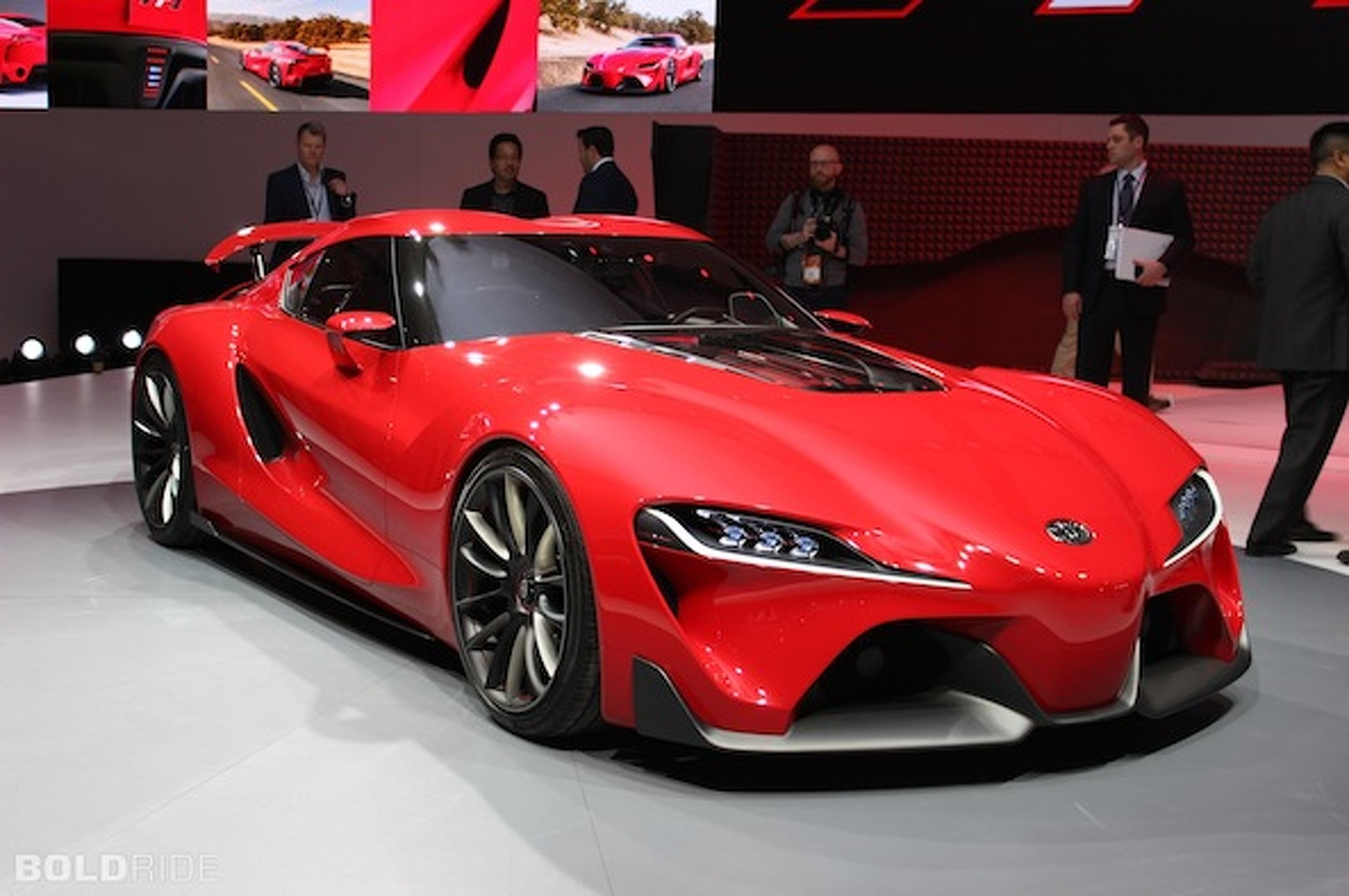 Toyota FT-1 Concept is a New Supra in Disguise