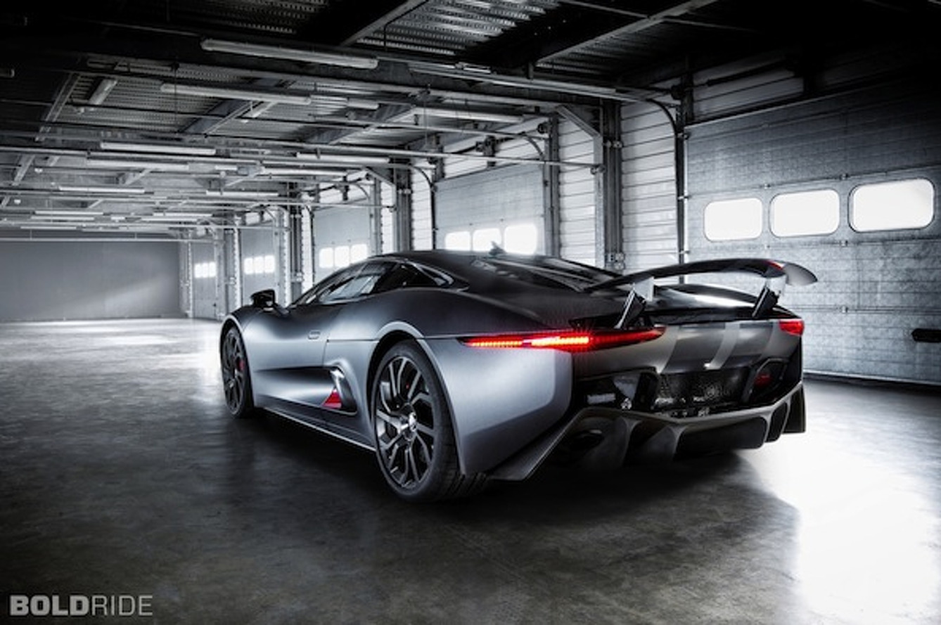 Wheels Wallpaper: Jaguar C-X75 Prototype
