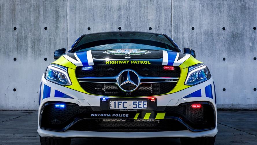 La police australienne équipée de Mercedes-AMG GLE 63 S Coupé