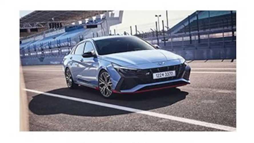 2022 Hyundai Elantra N Leaked Images