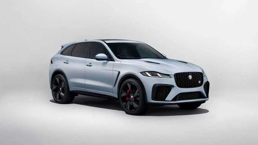 Jaguar F-Pace, nuovi aggiornamenti per il SUV inglese