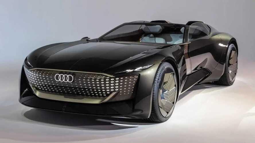 Audi Skysphere concept: roadster eléctrico con batalla variable