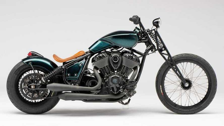 Indian Lifts Cover On First 2022 Indian Chief Build-Off Custom