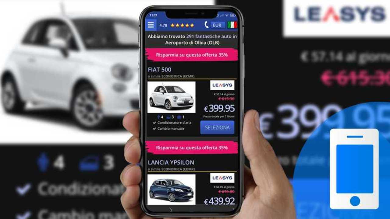 App Bookingcar per il noleggio auto
