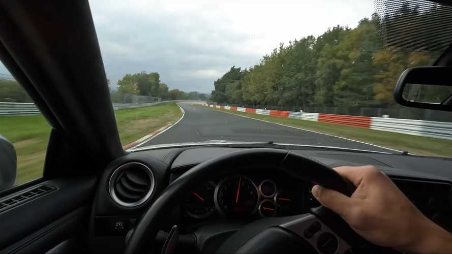 111,000-mile Nissan GT-R R35 laps the Nurburgring in POV video