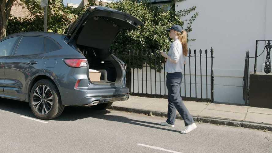 Ford e Hermes per le consegne in auto, in UK