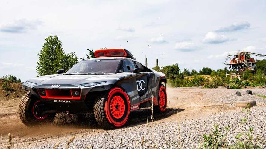 Audi RS Q e-tron, el nuevo coche de Sainz y Cruz para el Dakar
