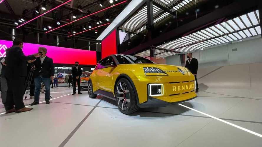 Renault R5 elétrico ao vivo