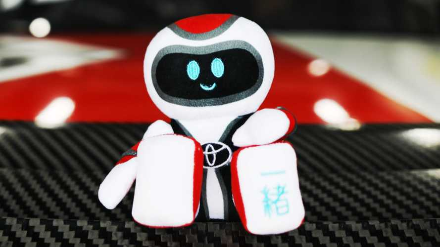 The Toyota GR Supra Has A Mascot Plushy, And It's Cute As Hell
