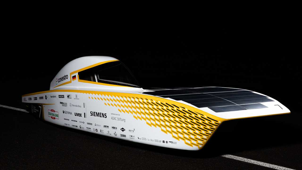 Covestro Photon: Solar-Elektro-Rennwagen mit extremer Effizienz