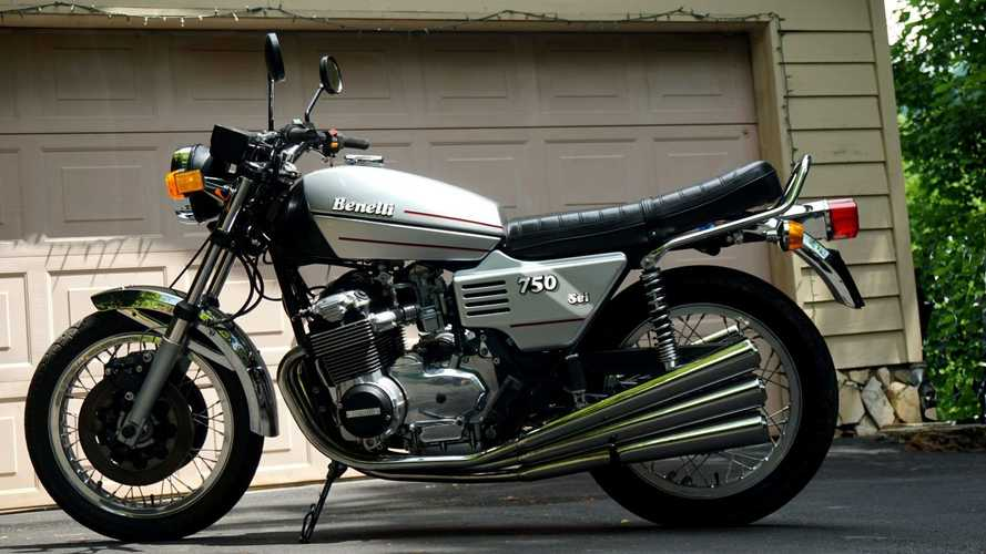This Benelli 750 Sei Has Six Good Reasons You Should Bring It Home