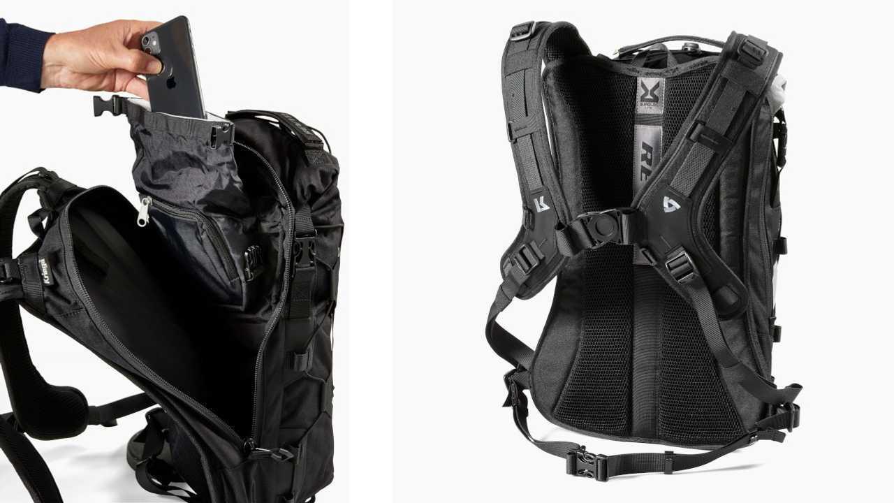 REV'IT X Kriega Barren 18L H2O Backpack