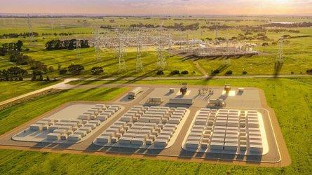 Tesla Megapack-Anlage: Brand in stationärem Stromspeicher