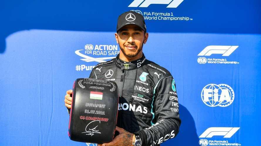2021 Macaristan GP: Hamilton ve Mercedes tekrar pole pozisyonunda
